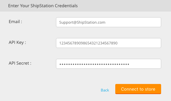 Unify enter your credentials menu